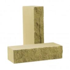Кирпич облицовочный полнотелый колотый «Дикий камень» (КСЛА)