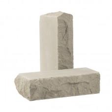 Кирпич облицовочный полнотелый тычковый «Дикий камень» (КСЛБ)