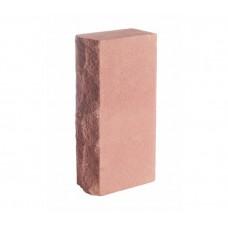 Камень силикатный лицевой колотый рустированный цветной (цена указана за 1 штуку товара)