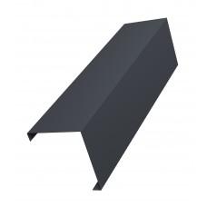 Декоративная накладка на столб угловая для забора жалюзи (цена указана за 1 м/п товара)