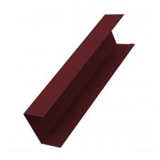 Крышка 65x40 для для забора жалюзи (цена указана за 1 м/п товара)