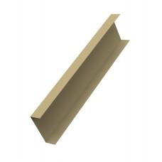 Декоративная накладка на столб для забора жалюзи (цена указана за 1 м/п товара)