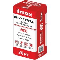 ILMAX 6805 Штукатурка выравнивающая гипсовая (5...30 мм) 30 кг