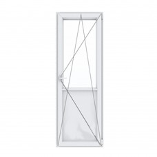 Балконная дверь с поворотно-откидной створкой