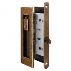 Набор Armadillo для раздвижных дверей SH011 URB OB-13 Античная бронза