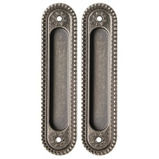 Ручка Armadillo для раздвижных дверей SH010/CL AS-9 Античное серебро