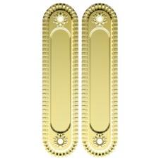 Ручка Armadillo для раздвижных дверей SH010/CL GOLD-24 Золото 24К