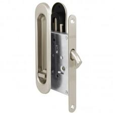 Защелка Punto с ручками для раздвижных дверей Soft LINE SL-011 SN