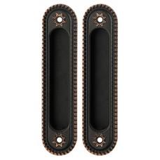 Ручка Armadillo для раздвижных дверей SH010/CL ABL-18 Темная медь