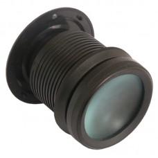 Глазок дверной АЛЛЮР ПУ-2 20-50мм d=56мм черное