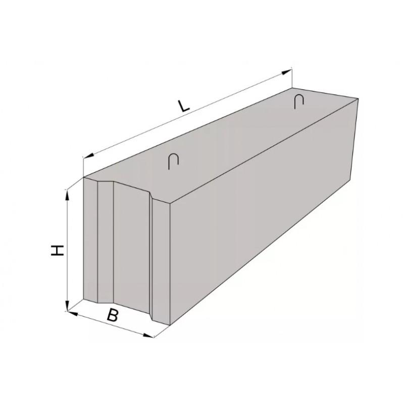Купить железобетонные блоки для стен фундамента ФБС 9.6.6 в Орше