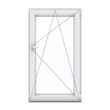 Одностворчатое окно с поворотно-откидной створкой