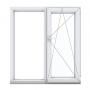 Купить двухстворчатое окно с одной поворотно-откидной створкой в Орше
