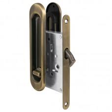 Защелка Punto с ручками для раздвижных дверей Soft LINE SL-011 AB